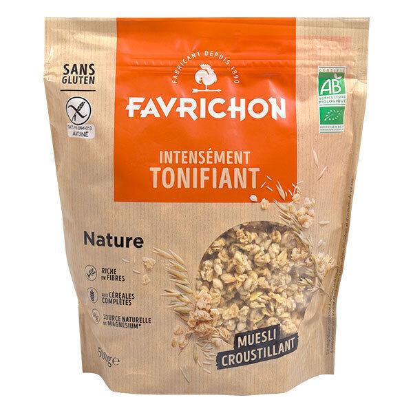 Favrichon - Muesli croustillant Nature Bio 500g