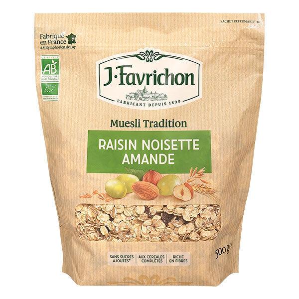 Favrichon - Muesli raisin noisette amande 500g