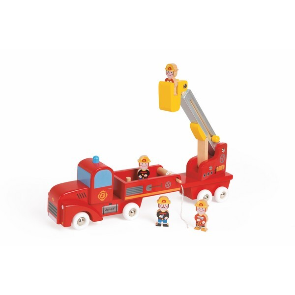 Janod - Camion De Pompiers Geant Story