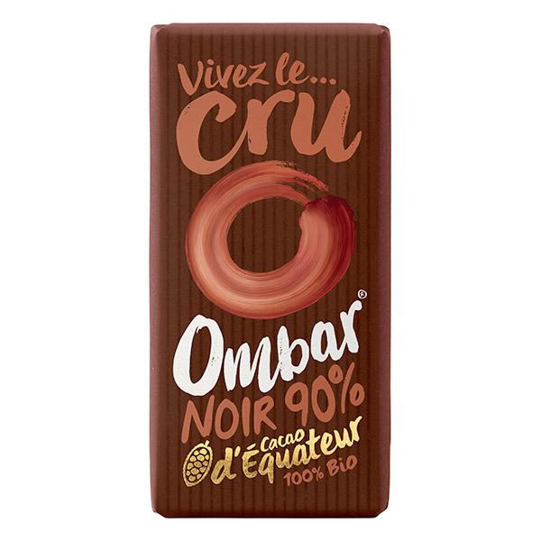 Ombar - Chocolat 90 % cacao cru 35g