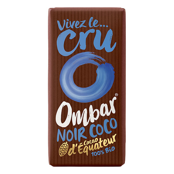 Ombar - Chocolat cru Crème de coco 35g