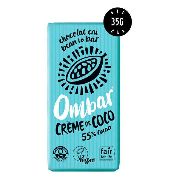 Ombar - Chocolat cru crème de coco bio 35g