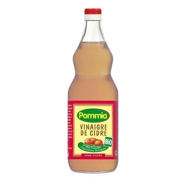 Pommia - Vinaigre de cidre Non filtré 5° 1L