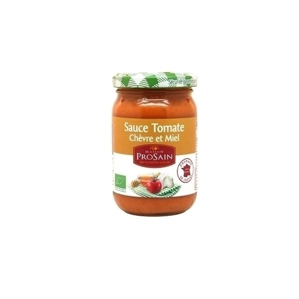 ProSain - Sauce tomate Chèvre et Miel Bio 200g