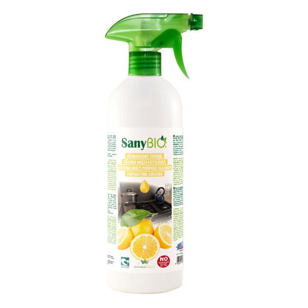 SanyBIO - Spray Dégraissant Parfum Citron 750mL