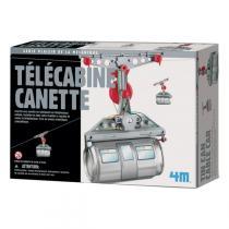4M - Kit Construction Télécabine Canette - Dès 8 ans
