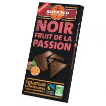 Alter éco - Chocolat noir fruit de la passion 100g