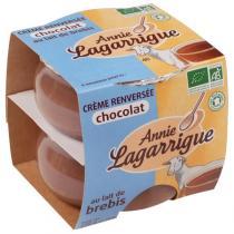 Annie Lagarrigue - Crème renversée choco Brebis 2x110g