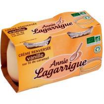 Annie Lagarrigue - Crème renversée vanille/caramel 2x125g