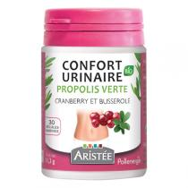 Aristée - Gélules confort urinaire propolis verte x30