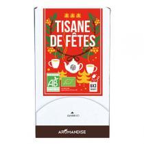 Aromandise - Assortiment Tisanes de fêtes 18 sachets