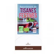 Aromandise - Assortiment tisanes festives 18 sachets