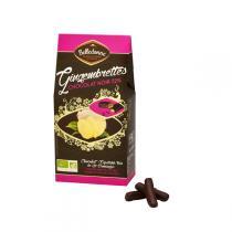 Belledonne - Gingembrettes chocolat noir 72% 100g