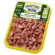 Bioporc - Dés de jambon qualité supérieure 150gr