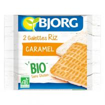 Bjorg - 2 Galettes riz caramel 22,5g