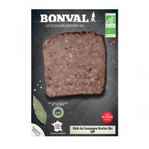 Bonval - Pâté de campagne Breton 150gr
