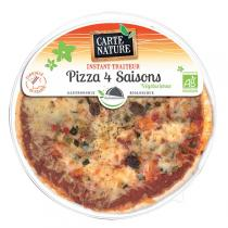 Carte Nature - Pizza 4 saisons végétarienne 400gr