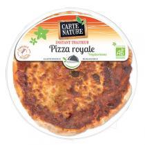 Carte Nature - Pizza royale végétarienne 400gr