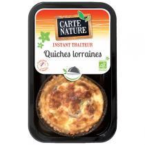 Carte Nature - Quiche Lorraine 2x115gr