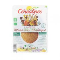 Céréalpes - Galettes céréales châtaigne 180gr