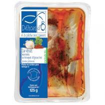 Délices d'Ô - Sardines marinées épices 125gr