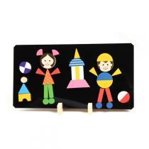 Detoa - Puzzle magnétique Enfants