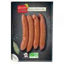 Eleveurs Certifiés - Saucisses de Francfort x 4 - 200gr