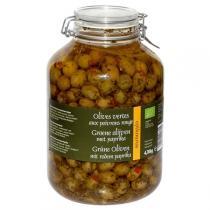 Epikouros - Olives vertes poivrons rouges - 4,7kg