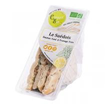 Croquez bio - Sandwich Le Suédois 130gr