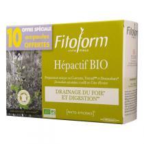 Fitoform - Hépactif BIO x 20 ampoules + 10 ampoules OFFERTES