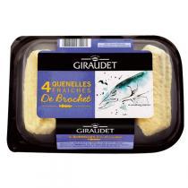 Giraudet - Quenelles brochet Bio 4 x 80g