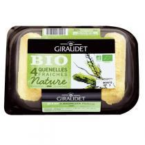 Giraudet - Quenelles nature Bio 4 x 80 g