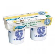 La Bergerie - Yaourt brebis vanille demi-écrémé 2x125g