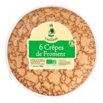 La Crêpière - Crêpes de froment x 6 300g