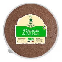 La Crêpière - Galettes de blé noir x4 200g