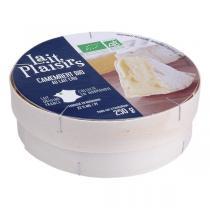 Lait Plaisirs - Camembert au lait cru 250 g