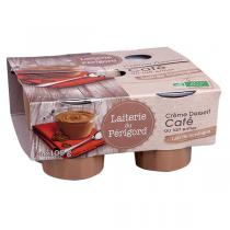 Laiterie du Périgord - Crème dessert café 4x105g