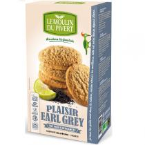 Le Moulin du Pivert - Biscuits Bio Plaisirs Earl Grey -175 gr