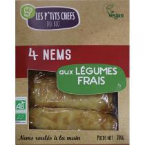 Les P'tits Chefs du Bio - 4 Nems Végétariens200g