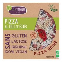 Les P'tits Chefs du Bio - Pizza Reine Sans gluten Vegan 250g