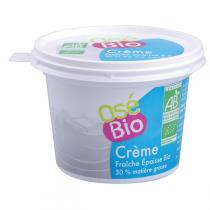 Osé Bio - Crème fraîche 30 % MG 200g