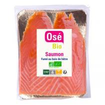 Osé Bio - Saumon fumé Bio Atlantique 80g