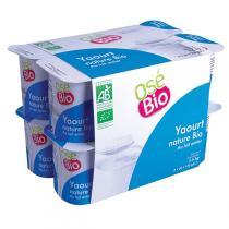 Osé Bio - Yaourt nature Bio 12x125g