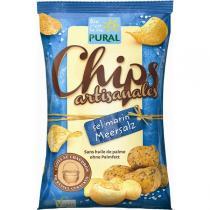 Pural - Chips artisanales au sel marin 120g