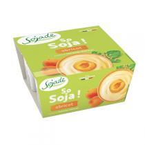 Sojade (Frais) - Sojade abricot 4 x 100g