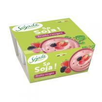 Sojade (Frais) - Sojade fruits rouges 4 x 100g
