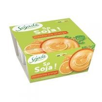 Sojade (Frais) - Sojade mandarine orange 4x100g
