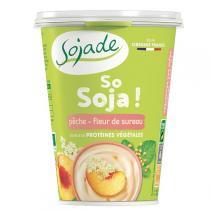 Sojade (Frais) - Sojade pêche / Fleur de sureau 400g