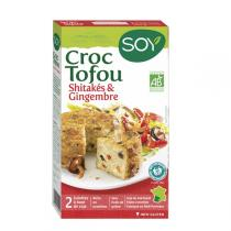 Soy (frais) - Croque tofu Shitaké & Gingembre 2x100g