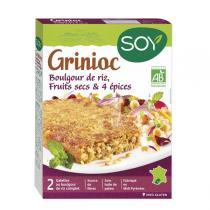 Soy (frais) - Galettes Grinioc boulgour riz fruits secs 2x100g